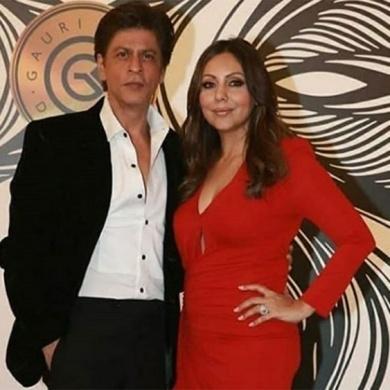 SRK and Gauri Khan