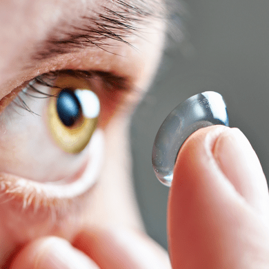 hygiene to wear contact lens