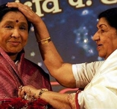 Asha Bhosle & Lata Mangeshkar