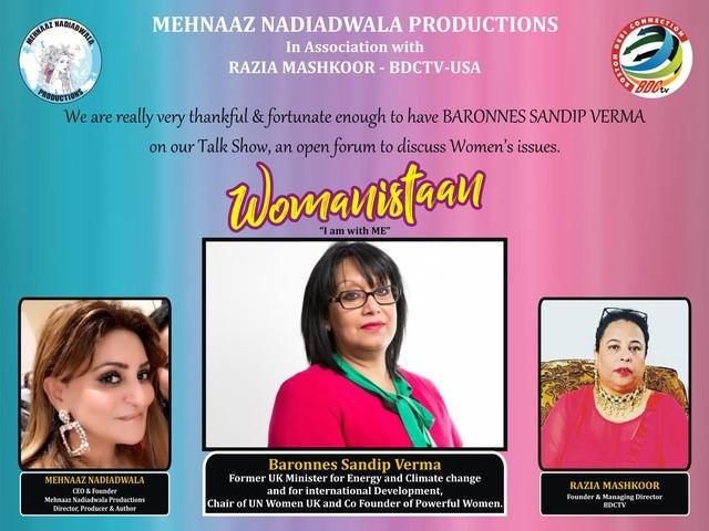 Womanistaan talk show Episode-2