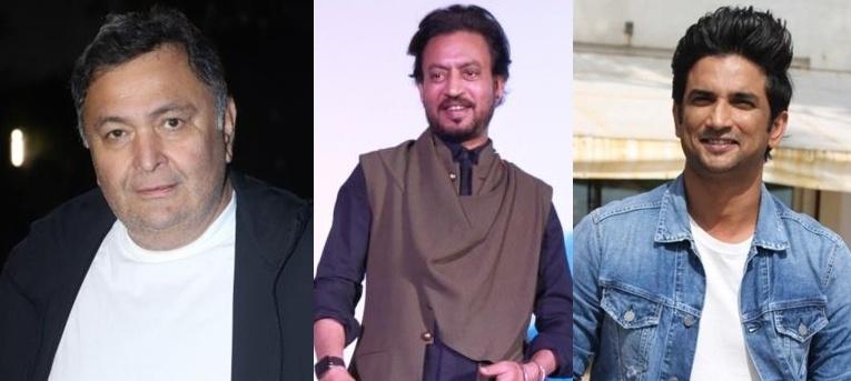 Rishi Kapoor, Irrfan Khan, Sushant