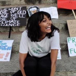 Climate activist Disha Ravi. (Photo| Twitter/ @KartiPC) Climate activist Disha Ravi