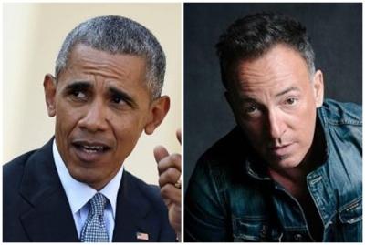 Obama, Springsteen