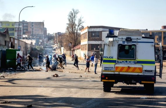 S. Africa violence