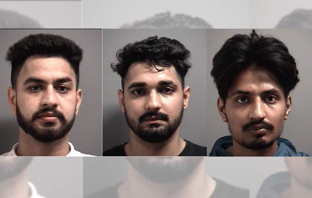 Punjabi men arrested